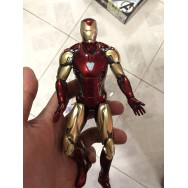 ZD 7 inch IronMan MK85 action figure + Manipple MP14 head sculpt combo set
