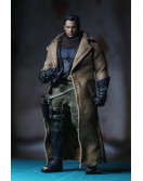 Custom 1/12 Scale Trench coat + binoculars designed for Mezco figure