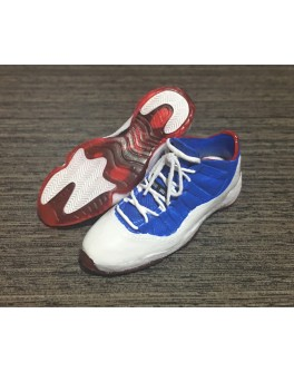 1/6 Scale Custom Basket Ball Shoes AJ11 Low Captain Compatible HT or EB Body
