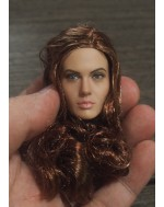 Custom 1/6 Scale Angelina Head Sculpt