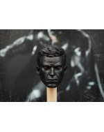 OSK1805414 Custom 1/6 Scale Male Head Sculpt Black version