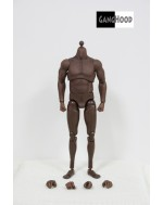 GangHood 1/6 Scale Black Muscular Body 1.0B Version