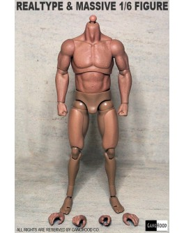 GangHood 1/6 Scale Muscular Body 1.0 Version