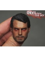 OSK1603695 Custome 1/6 Scale Male Head Sculpt Vein Look