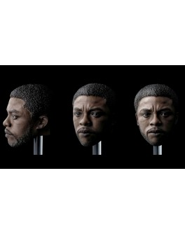 Piz Custom 1/6 Scale Black Male Head Sculpt PC01