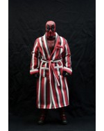 Custom 1/6 Scale Red Strip Bath Robe
