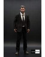 Ganghood 1/6 Scale Black Suit Set Tailored on Ganghood advance muscular body