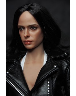OSK1610948 Custom 1/6 Scale Super V JJ Female Head Sculpt