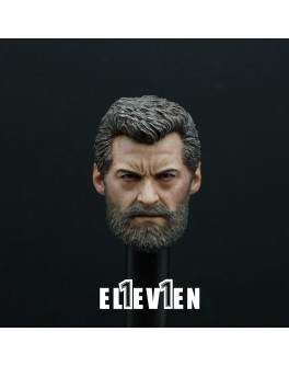 Eleven 1/6 Scale Lo Male Head Sculpt