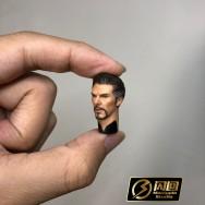 Manipple MP11 1/12 scale Male Head Sculpt set