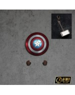 Manipple MP34A 1/12 set of Shield + Hammer (Clean version)