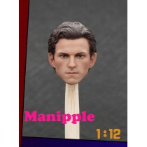 Manipple MP01 1/12 Scale Male Head Sculpt