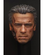 OSK1603695 Custom 1/6 Scale Battle Damaged Male Head Sculpt
