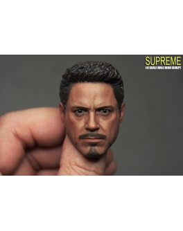 OSK1604730 Custom 1/6 Scale Male Head Sculpt 5.0A Neckness Version