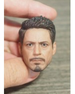 OSK1805398 Custom 1/6 Scale Male Head Sculpt 6.0C Clean Version