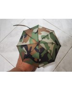 Custom 1/6 Scale Camouflage Umbrella