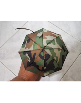 Custom 1/6 Scale Camouflage Umbrella