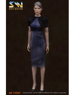 Our World 1/6 Scale Agent Dress Set