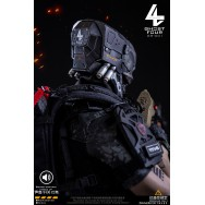 Ghost Four GS-001 1/6 Scale LED lighting head sculpt