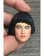 Limited Collectible 1/6 Scale Ms Q Female Head Sculpt