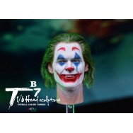 By Art T7B 1/6 Scale Male Head Sculpt (Rolling eye ball)
