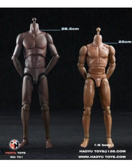 HaoYuToys 1/6 Scale Tall African Figure Body