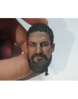 Custom 1/6 Scale Ancient Warrior Leonidas Head Sculpt