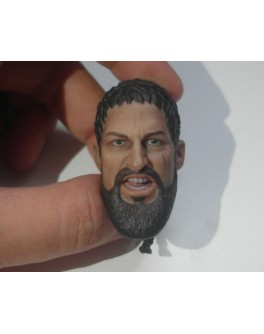 Custom 1/6 Scale Roar Ancient Warrior Leonidas Head Sculpt