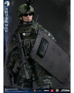 DAMTOYS 1/6 Scale CHINESE PEOPLE'S ARMED POLICE FORCE SLCU TEAM LEADER