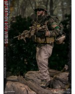 DAMTOYS 78081 1/6 Scale Operation Red Wings SDV TEAM 1 Radio Telephone Operator