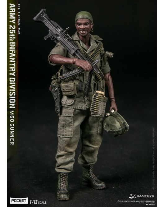 DAM PES010 1/12 Scale ARMY 25th 25th Infantry Division M60