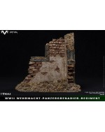 VTS 1/12 Scale Simulated War Ruins Scene Platform