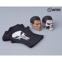 Daftoys F012 1/6 Scale Custom head sculpt + tee set