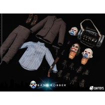 Daftoys F02 1/6 Scale A bank robber costume set