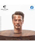 Infinity Art Studio IAS HS-01B  1/6 Scale male head sculpt (BD Version)