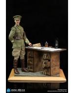 DID E60062 1/6 Scale WW1 War Desk Diorama Set
