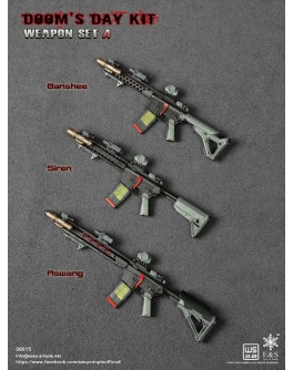 Easy&Simple ES06015 1/6 Scale Doom's Day Weapon Kit