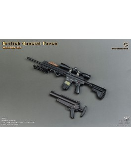 Easy&Simple 06021 1/6 Scale British Special Force Weapon Set C