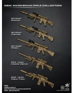 Easy & Simple 06024 1/6 Scale NSW Marksman Rifle Collection