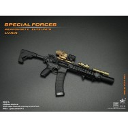 Easy&Simple 06027 1/6 Scale Special Forces Weapon Set C Elite Units LVAW