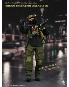 Easy & Simple 1/6 Scale PMC URBAN OPERATION ASSAULTER