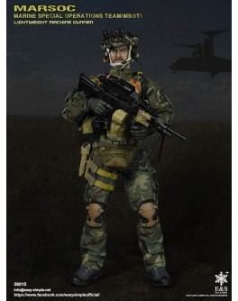 Easy & Simple 26015 1/6 Scale MARSOC MSOT Lightweight Machine Gunner