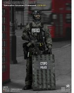 Easy&Simple 26017S 1/6 Scale British Specialist Firearms Command SCO19 Shieldman