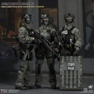 Easy&Simple 26017S 1/6 Scale British Specialist Firearms Command SCO19 Shieldman