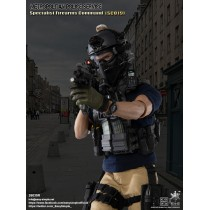 Easy & Simple 26035R 1/6 Scale British Specialist Firearms Command SCO19