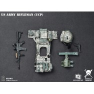 General's Armoury GA1001 1/6 Scale US ARMY Rifleman (UCP)