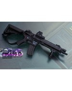 Custom 1/6 Scale HK416C Rifle Set Not Only For John Wick Costume