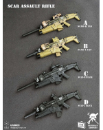 General's Armoury GA003 1/6 Scale SCAR Assault Rifle set B