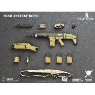 General's Armoury GA003 1/6 Scale SCAR Assault Rifle in 4 styles