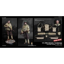 Facepool FP004B 1/6 Scale US 29th Infantry Technician Deluxe version